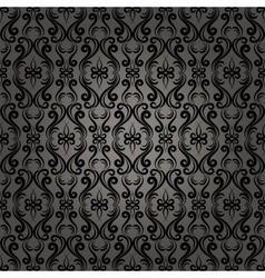 Damask Baroque Seamless Pattern Background vector image
