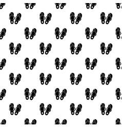 flip flops pattern seamless vector image
