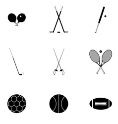 Icons for sports vector