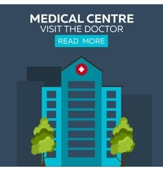 Medical centre Visit the doctor Hospital and vector