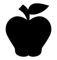 pictograph apple vector image