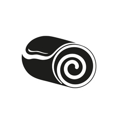 Roll cake icon Cake icon dessert icon vector