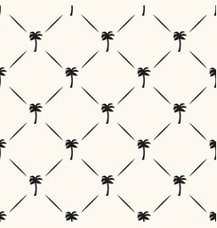 seamless geometric tropical pattern with vector image