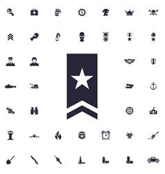 Shoulder straps icon vector
