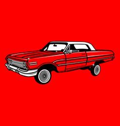 Vintage car 29 vector