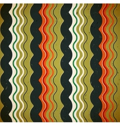 Wavy seamless pattern vector