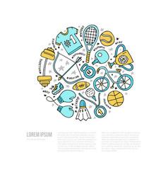 Sport concept vector