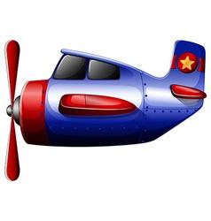 A blue propeller vector