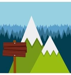camping trip design vector image