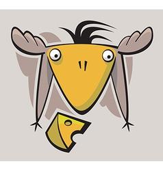 Cute funny Bird vector image