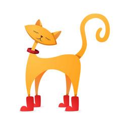 funny cute cartoon character vector image