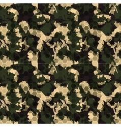 Hexagonal camouflage digital hexagon camo vector image