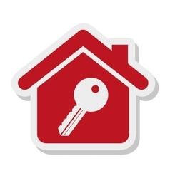 key property isolated icon vector image