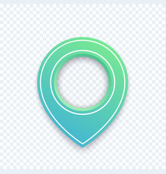 map pointer pin vector image