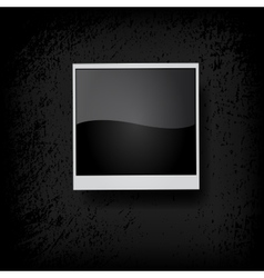 Photo frame vector image