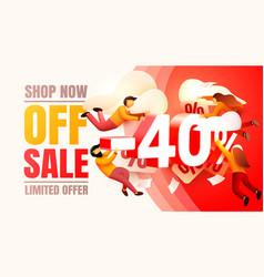 Shop now off sale 40 interest discount limited vector