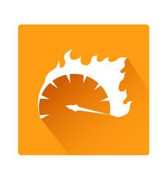 Speed button icon stock design vector