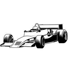 Racing Car vector image vector image