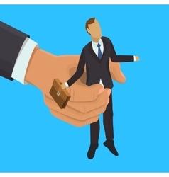 HR management vector image
