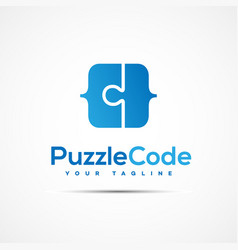 software template logo vector image vector image