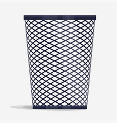 wire holder basket office organizer box vector image vector image