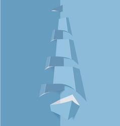 BlueSailboat vector image