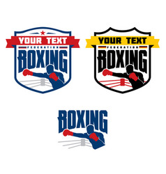 Boxing logo vector
