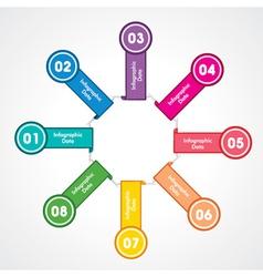 Creative arrow info-graphic vector