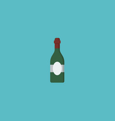 flat icon wine element of vector image