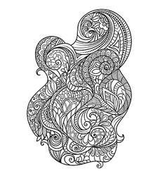 Hand-drawn design vector