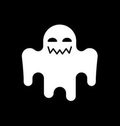 Horror movie dark mode glyph icon vector