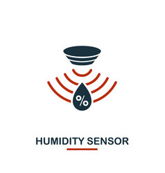 humidity sensor icon from sensors icons collection vector image