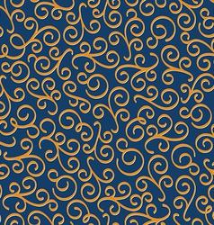 Luxury eastern seamless floral pattern vector
