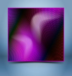 Purple black mosaic template vector