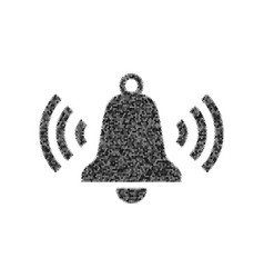 Ringing bell icon black icon from many vector