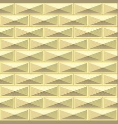 gold tiles texture seamless pattern vector image vector image