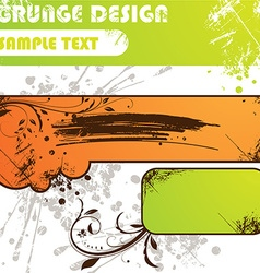 Grunge Summer Set vector image vector image
