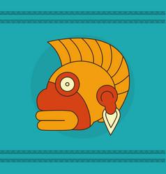 maya face design vector image