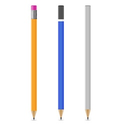 sharpened pencil 07 vector image vector image