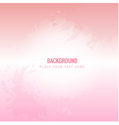 Abstract pink watercolor pink background im vector