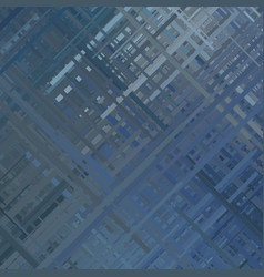 Blue glitch background vector