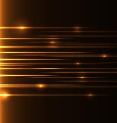 Orange speed laser vector