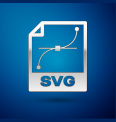 Silver svg file document icon download svg button vector