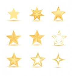 vector stars vector image