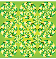 Fascinating optical vector image