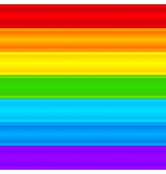 Horizontal rainbow plastic stripes abstract vector image