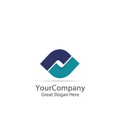 business corporate logo lettertype letter s vector image