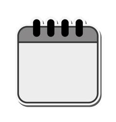 Calendar month planner design vector