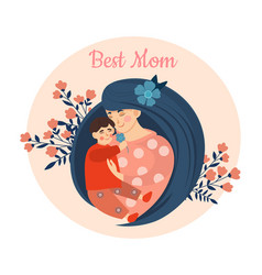 mothers day concept vector image