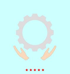 Preventative maintenance set it is color icon vector